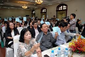 Thể thức tiến hành họp và biểu quyết tại Đại hội đồng cổ đông