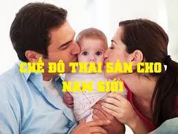 chế độ thai sản dành cho nam giới