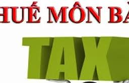 Cách tính thuế môn bài